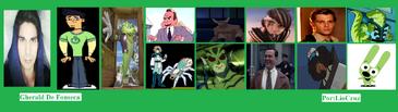 Gherald y otros de sus personajes