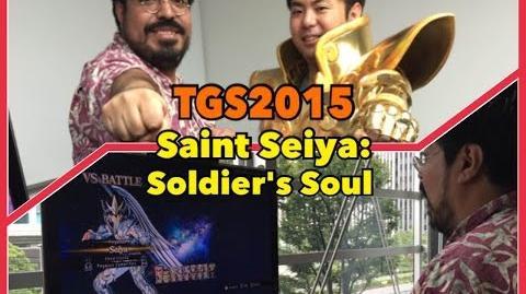TGS2015 Saint Seiya Soldier's Soul Los Caballeros del Zodiaco Alma de Soldados ( BandaiNamco)