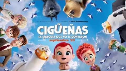 CIGÜEÑAS LA HISTORIA QUE NO TE CONTARON - Aves que no pueden volar - Oficial Warner Bros