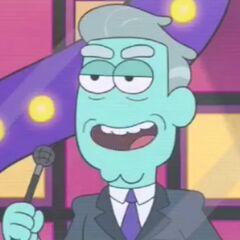 Presentador de televisión también en <a href=
