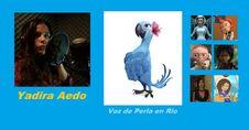 Yadira Aedo-Personajes