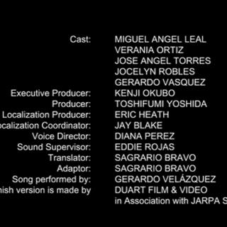 Créditos de doblaje de la temporada 19 en Netflix.