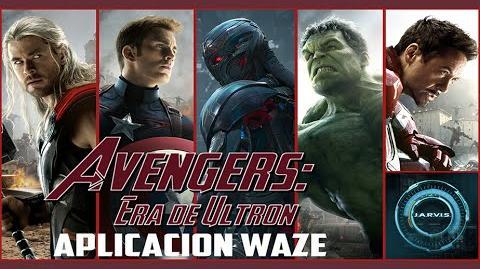 Avengers Era de Ultron en Waze