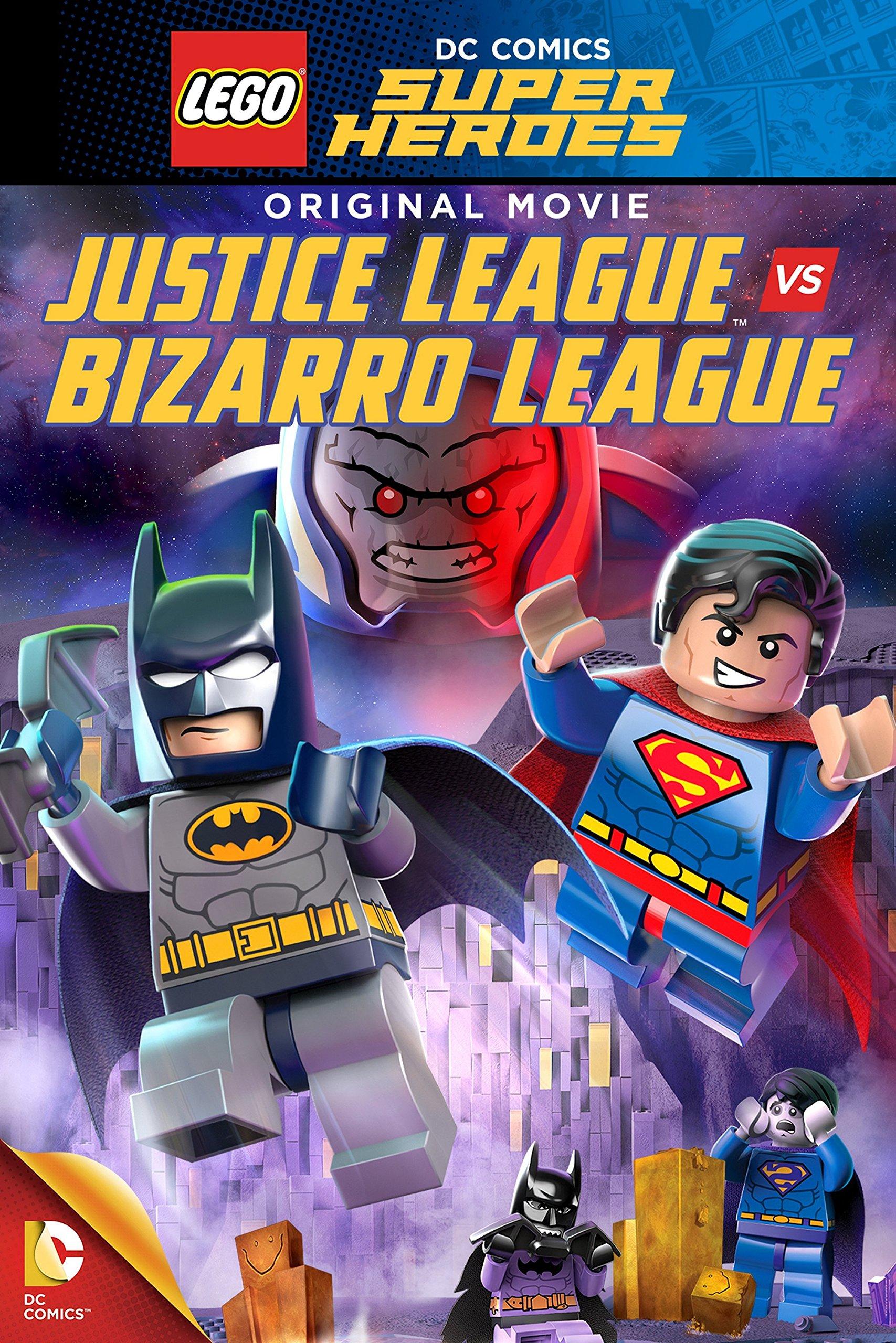 DC Superhéroes Lego: Liga de la Justicia vs. Liga de Bizarro ...