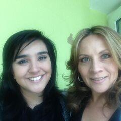 Annie Rojas (Starlight) y Maggie Vera (Fluttershy). (07/04/15)