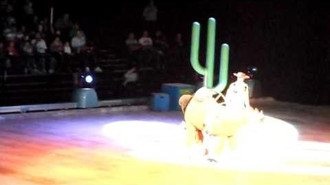 Toy Story on Ice - El rodeo de Woody