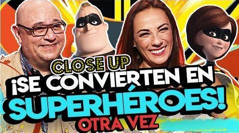 El doblaje de Los Increíbles 2 está de regreso- Víctor Trujillo y Consuelo Duval