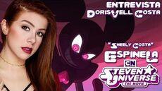 Entrevista a Espinela (Sheely Costa) en Steven Universe - Spinel Happycito
