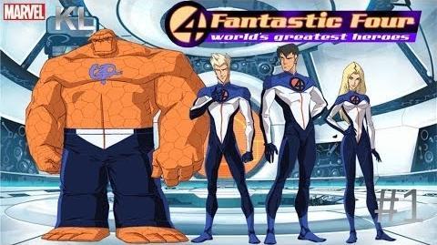 Los 4 Fantásticos 2006 Episodio 1 Español Latino Full HD 1080p