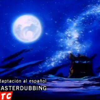 Crédito del redoblaje en el segundo ending.