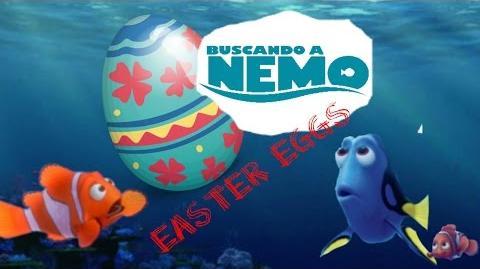 Easter Eggs Disco 1 Del DVD Buscando a Nemo