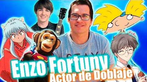 Enzo Fortuny Voz InuYasha - Chango Memé