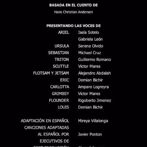 Créditos del DVD y Blu-ray 2D/3D (Edición Diamante 2013)
