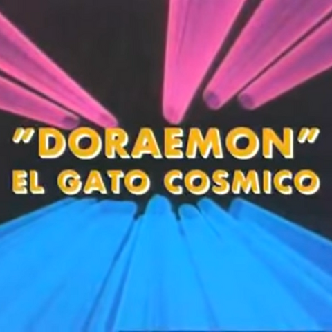 Logo alternativo de Doraemon en español