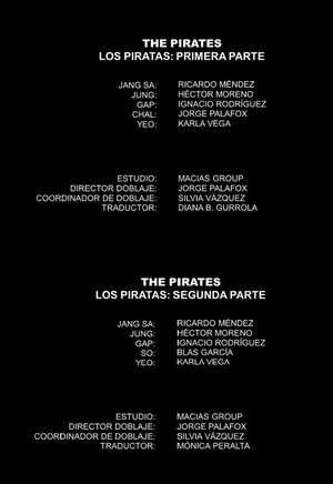 Pirates 2014 creditos