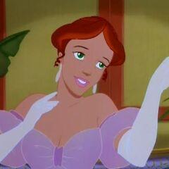 Anna Leonowens en la película animada <a href=
