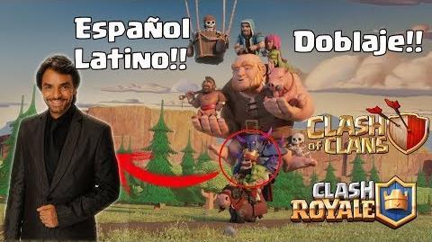 Clash Royale Animación Español Latino - Doblaje Eugenio Derbez - El Ridículo Equipo Del Rey Rojo