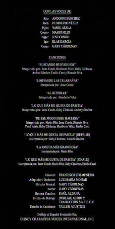 Créditos de doblaje de Nuevas aventuras de Rito (TV) (DJ)