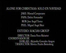 Créditos de doblaje de Solo en Navidad (TV) (DC)