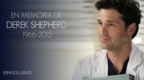 GREY'S ANATOMY - EN MEMORIA DE DEREK SHEPHERD - ESPAÑOL LATINO