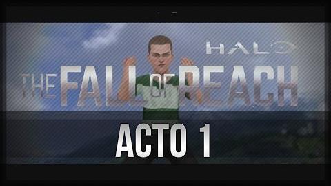 Halo The Fall of Reach - La Serie Animada - En Español - Acto 1