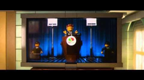 LA GRAN AVENTURA LEGO - Conozcan Al Presidente Negocios - Oficial de Warner Bros