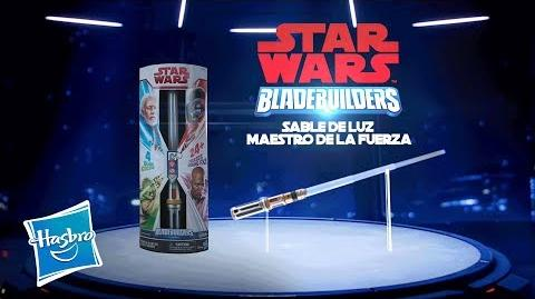 Star Wars Latino América - Bladebuilders Sable de Luz Maestro de la Fuerza