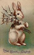 220px-Easter Bunny Postcard 1907