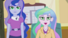 Celestia and Luna's eyes glow green EG2