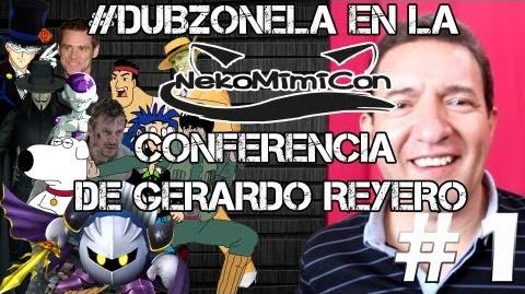 Conferencia de Gerardo Reyero en Tepic, Nayarit - DeGira DubZoneLA en la Nekomimicon (Parte 1-3)