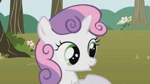 Personajes e Interpretación Sweetie Belle 1T