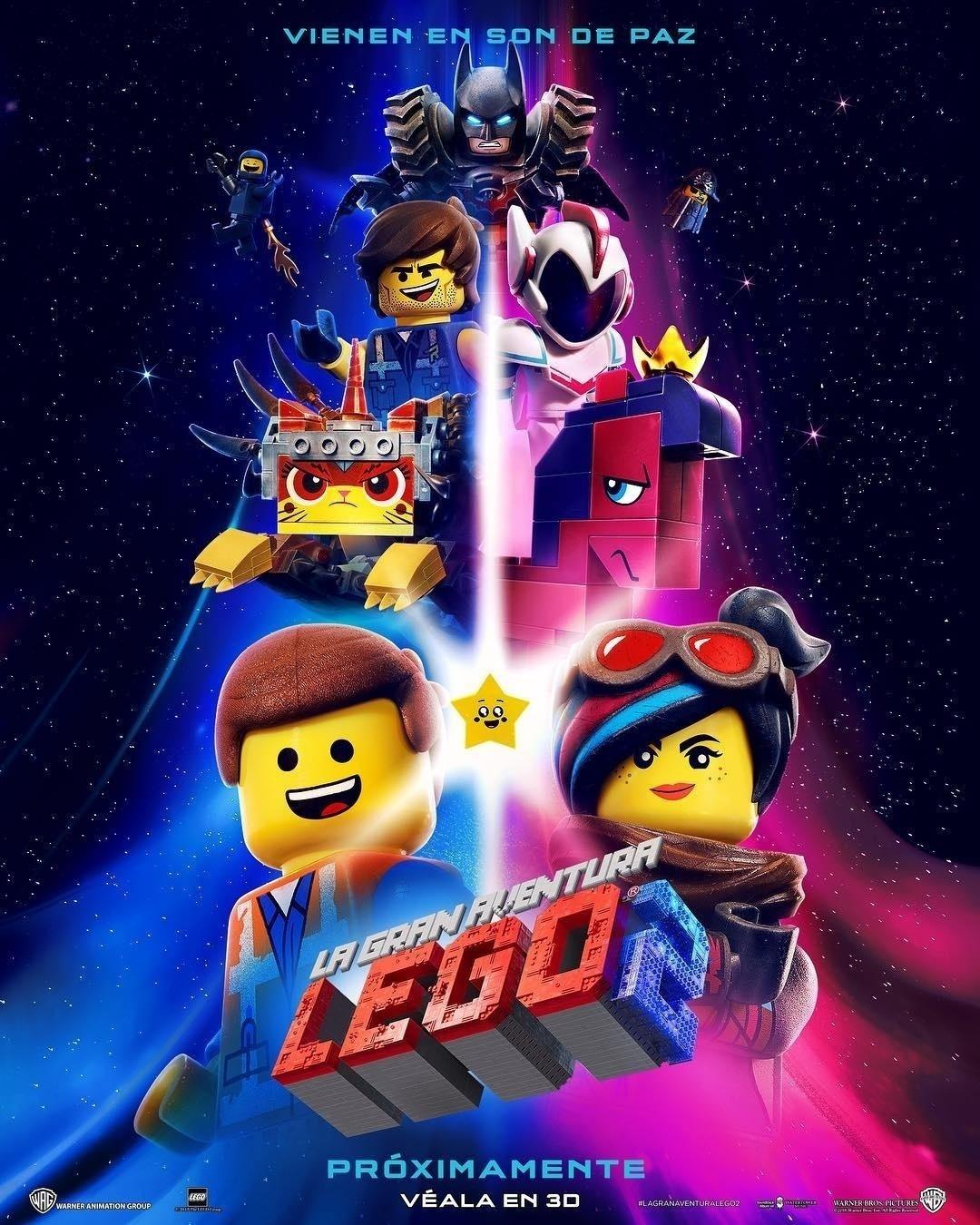 Resultado de imagen para la gran aventura lego 2 poster