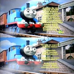 Créditos del doblaje mexicano de Thomas y sus amigos<br />(Temp. 19).