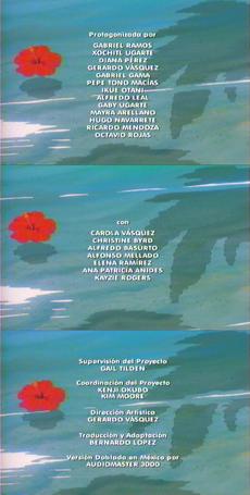 Creditos de doblaje pokemon la pelicula 2000