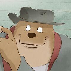 Ernest, el oso en <a href=