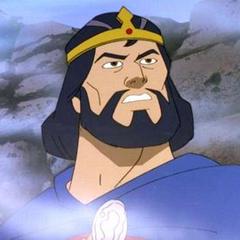 Príncipe Duncan (después Rey Duncan de Escocia) en <a href=