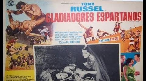 Gladiadores Espartanos - Tony Russel - Aventura (Audio Latino)