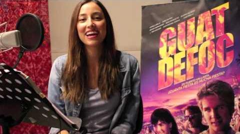 Guatdefoq - Video del doblaje de la película