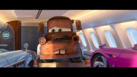 Cars 2-¿Te gustaría recorrer el mundo con Mate?