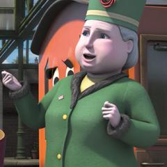 Dowager Hatt (1ª voz) en <a href=
