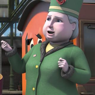 Dowager Hatt (2ª voz) en <a href=