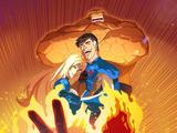 Los Cuatro Fantásticos: Superhéroes del mundo