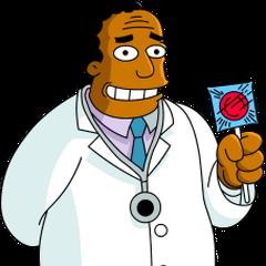 Dr. Julius Hibbert en <a href=