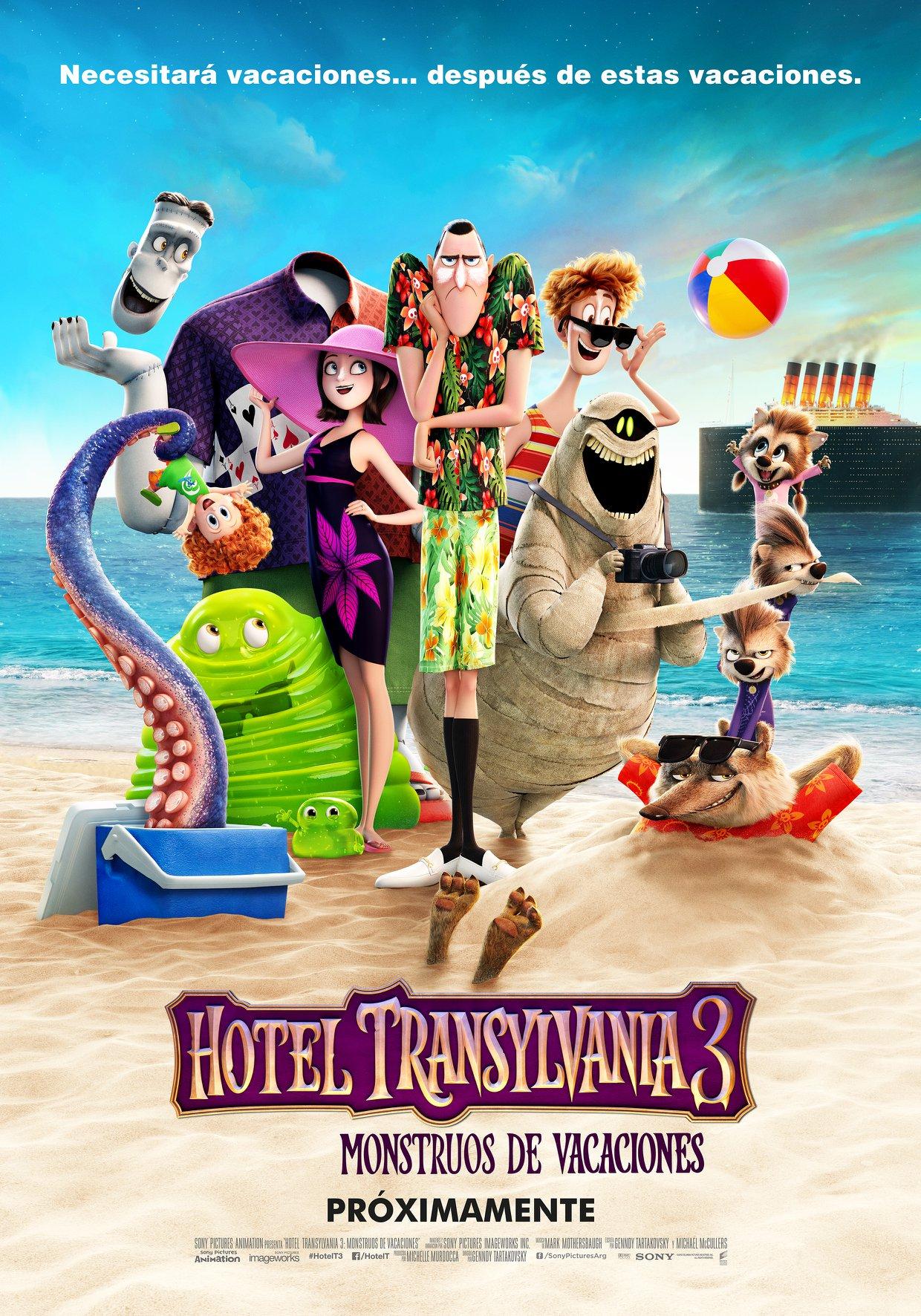 Hotel Transylvania 3 Monstruos De Vacaciones Doblaje Wiki