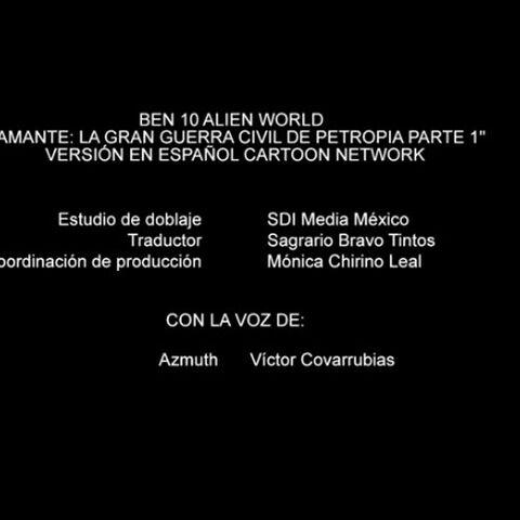 Créditos de doblaje en la serie de cortos