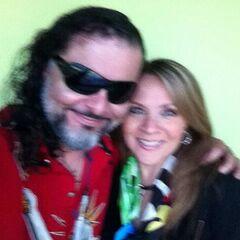 Enrique Cervantes (Discord) y Maggie Vera. (03/04)