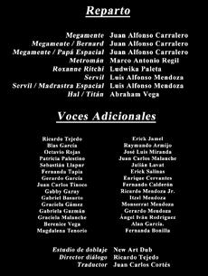 Doblaje Latino Megamind Creditos Netflix