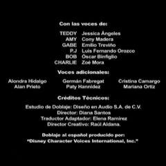 Créditos de la tercera temporada.