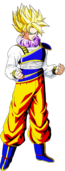 Goku ssj yadrat by dbzandsm-d5lx61p