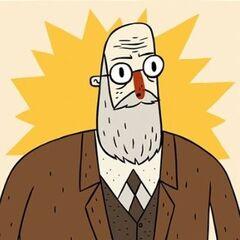 Sigmund Freud en <a href=